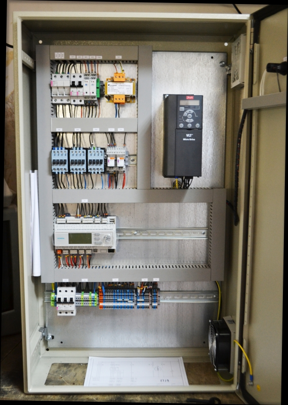 щит автоматики на Siemens